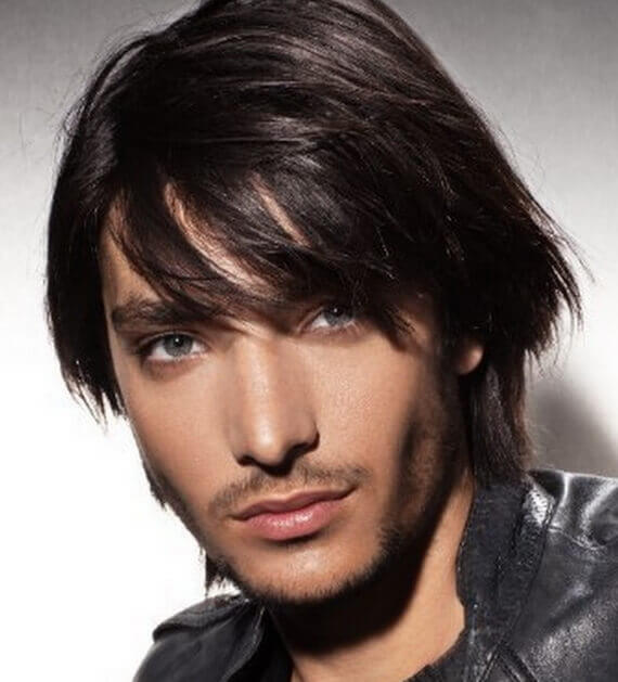 Mens Layered Hairstyle