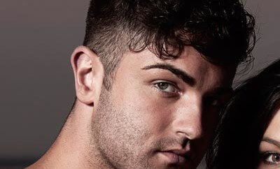 curls hairstyle for men