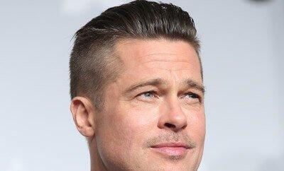 Brad Pitt Undercut Hairstyle-1072