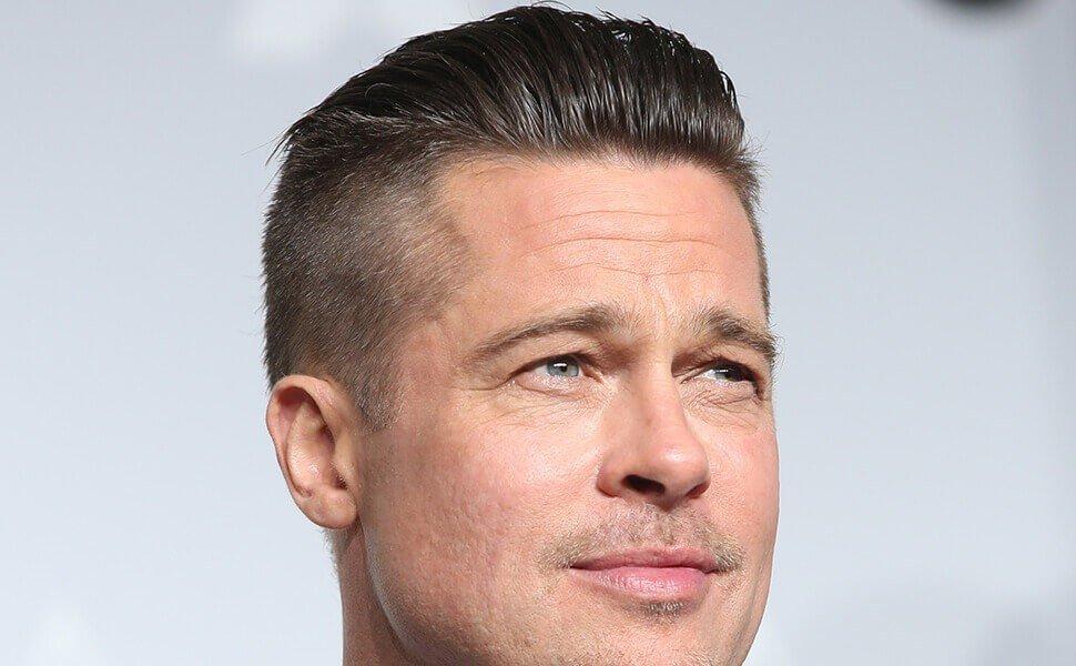brad pitt haircut - photo #1