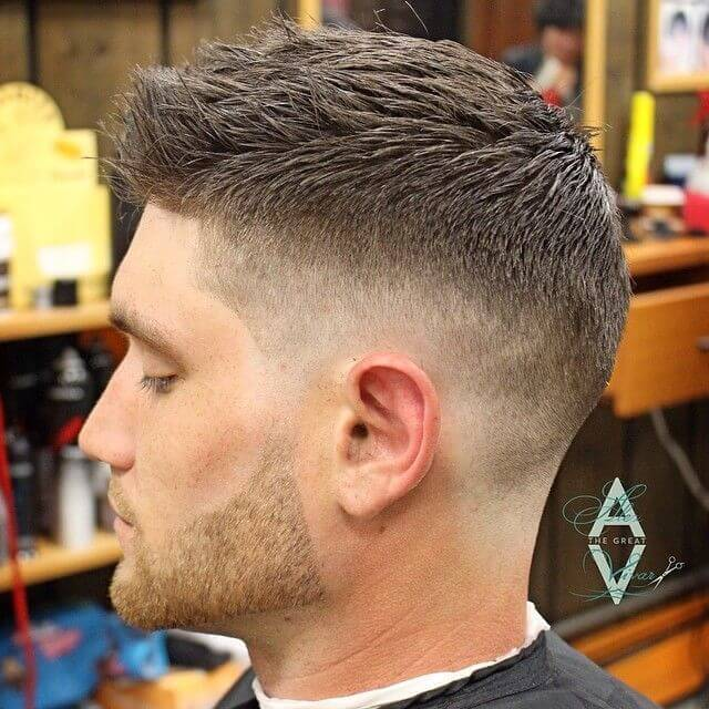 Fade Haircut Styles For White Guys Pictures