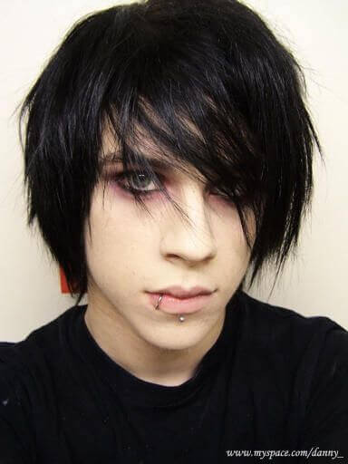 Emo Hairstyles For Thick Hair : Emo hairstyles for guys