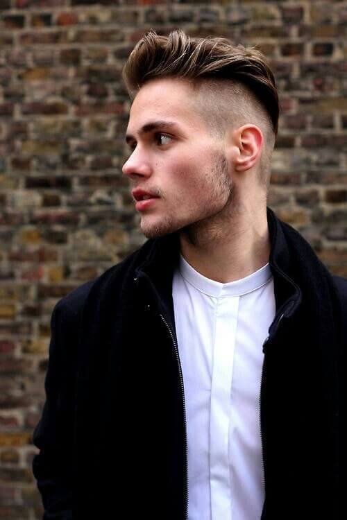 Shaved Side Hairstyles Are Also Called Undercut - Mens hairstyle undercut 2012
