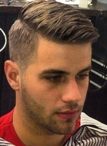 short back long front hairstyles : shaved-side-hairstyles-for-men-08 - Mens Hairstyle Guide