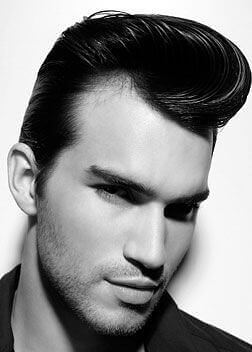 50s style mens hair 50s hairstyles for 10 mens hairstyle guide 6898